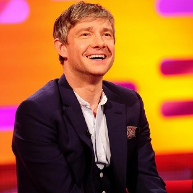 Martin Freeman is happy to work on TV, film and in the theatre, provided the roles are good