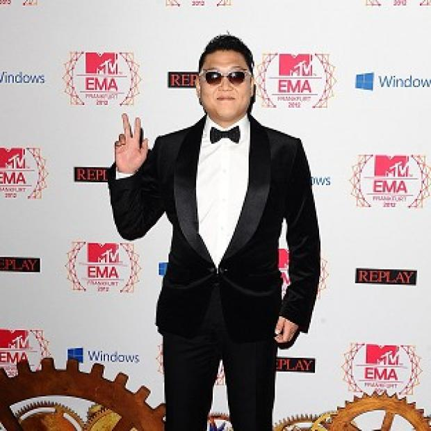 Psy's Gangnam Style topped a chart to find the most sung song in the UK on New Year's Eve
