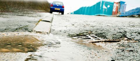 Pledge to fix Darwen drains