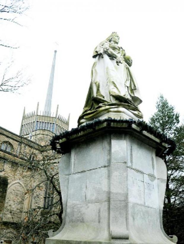 Lancashire Telegraph: MAJESTIC The statue on the Boulevard