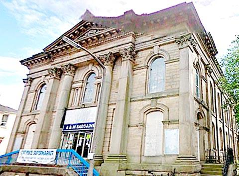 TARGET The former Wesleyan Methodist Church which J D Wetherspoon wants as a pub