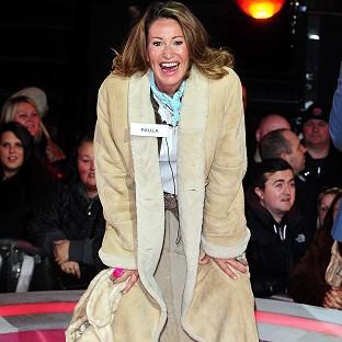 Paula Hamilton has been taken ill in the Celebrity Big Brother house