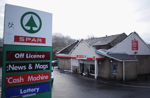 Spar in Padiham Road, Burnley