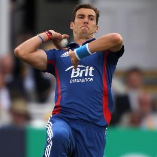 Steven Finn, pictured, has been highlighted as the man to spearhead England's attack in India