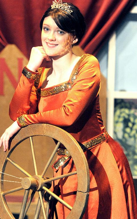 Rebecca Schofield in Sleeping Beauty