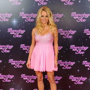 Pamela Anderson went out of Dancing On Ice in the first show