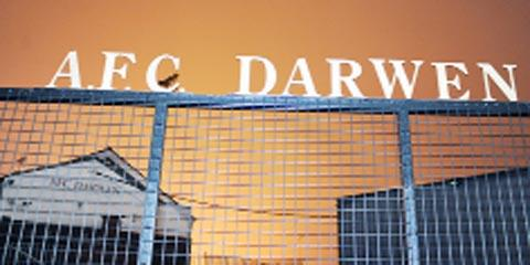 REVAMP The new-look Anchor Ground where Darwen play