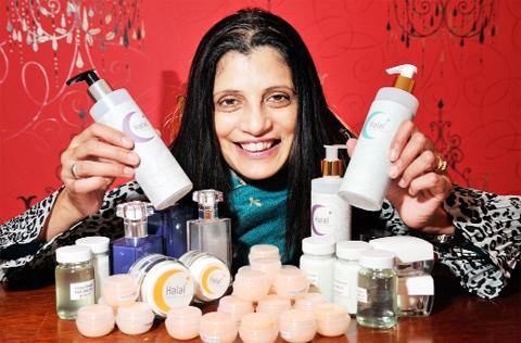 Salma Choudry has launched a new halal cosmetics business