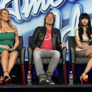 Keith Urban was caught in the middle of Mariah Carey and Nicki Minaj's bickering on American idol
