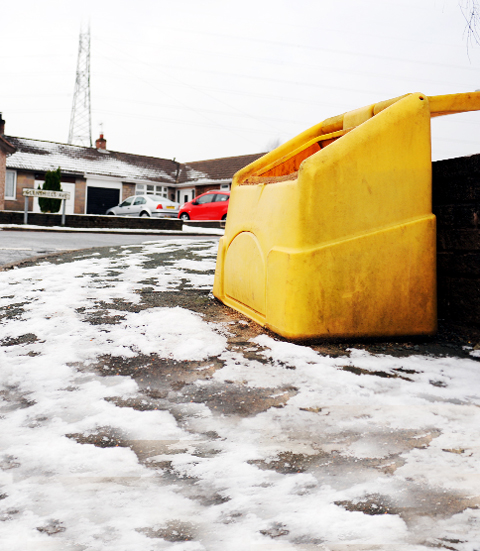 'Buy your own grit' say councils