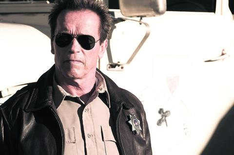 Arnold Schwarzenegger in The Last Stand