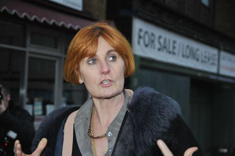 Mary Portas in Nelson