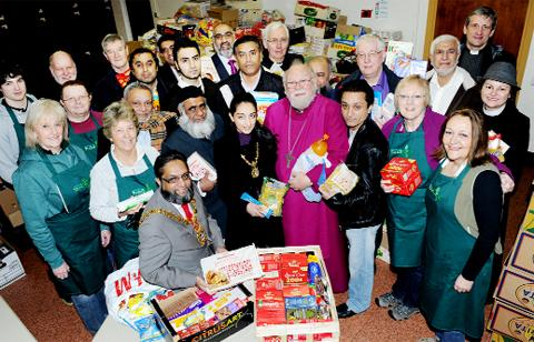 Blackburn Food Bank was among the nominees