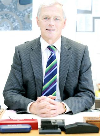 Headteacher Alasdair Coates