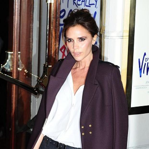 Victoria Beckham used to style out her school uniform