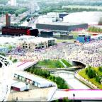 Lancashire Telegraph: GOLD STANDARD The Olympic Park designed by John Hopkins