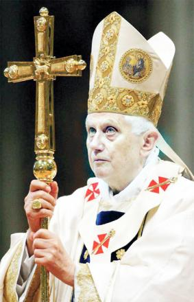 Church leaders' reaction at Pope Benedict's sudden decision to retire