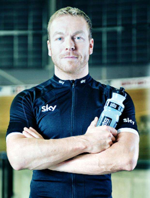 Sir Chris Hoy is endorsing Science in Sport products