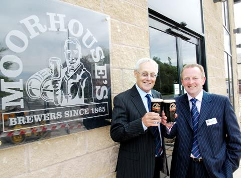 Moorhouse's chairman Bill Parkinson and MD David Grant
