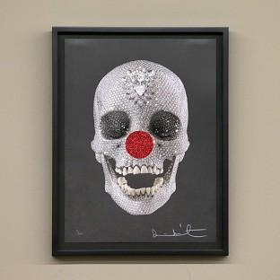 Damien Hirst has created 50 limited edition prints for Red Nose Day
