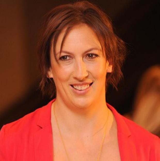Miranda Hart was emotional when she met her screen son