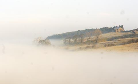 Fog near Haslingden Old Road. Photo: Rob Binder