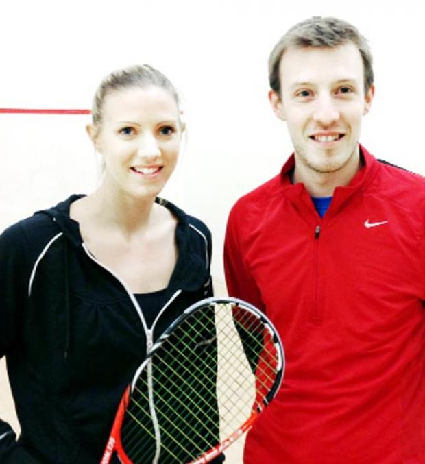 Chris Lengthorn with sister Laura Massaro
