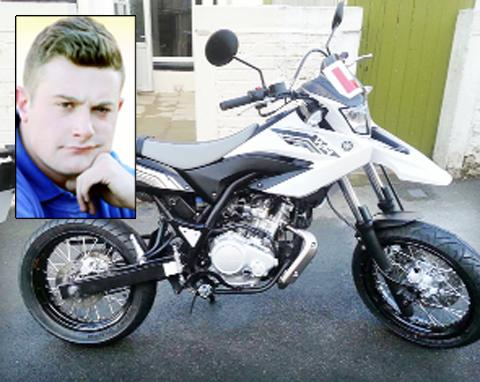 Stolen motorbike leaves Brierfield fitter shell-shocked