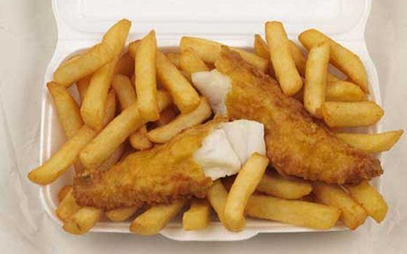 Burnley chippy worker's fingers stuck in a potato chipper