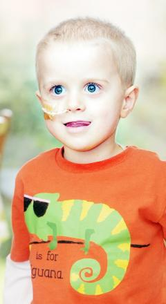 APPEAL: Sam Shaw, four, who needs cancer treatment in US