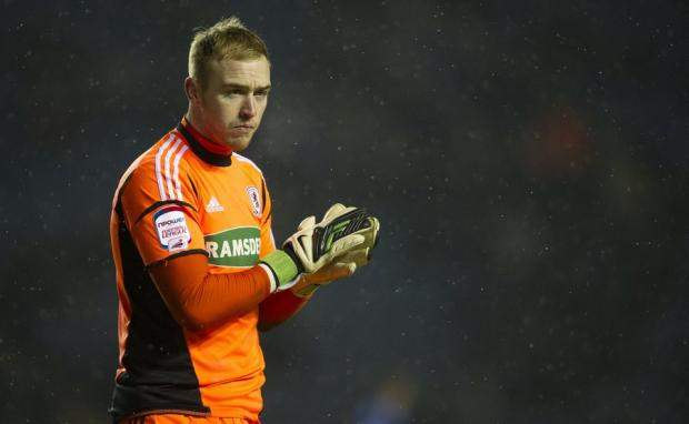 Jason Steele has joined Rovers on loan from Middlesbrough