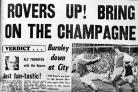 How we covered Rovers' promotion in 1975