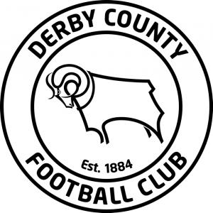 Lancashire Telegraph: Football Team Logo for Derby County