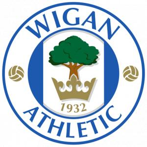 Lancashire Telegraph: Football Team Logo for Wigan Athletic