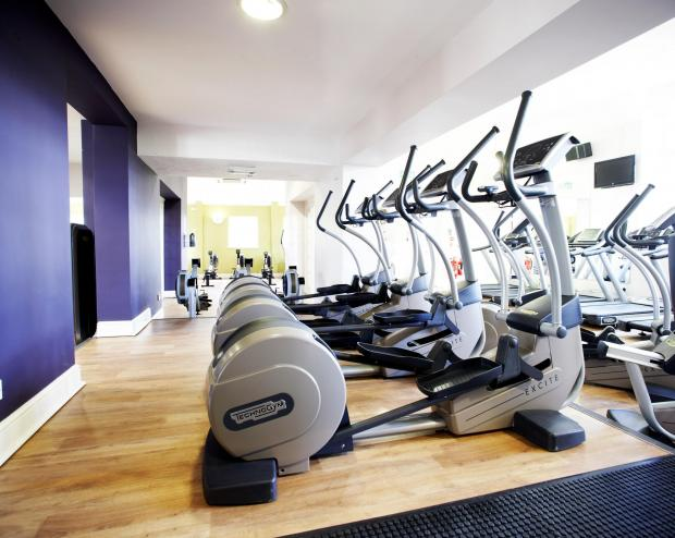 Fitness gym plan for business estate staff in Pendle