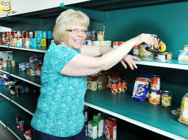 Clitheroe Foodbank project manager Ruth Haldane