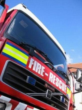 Colne bathroom fire thought to be deliberate