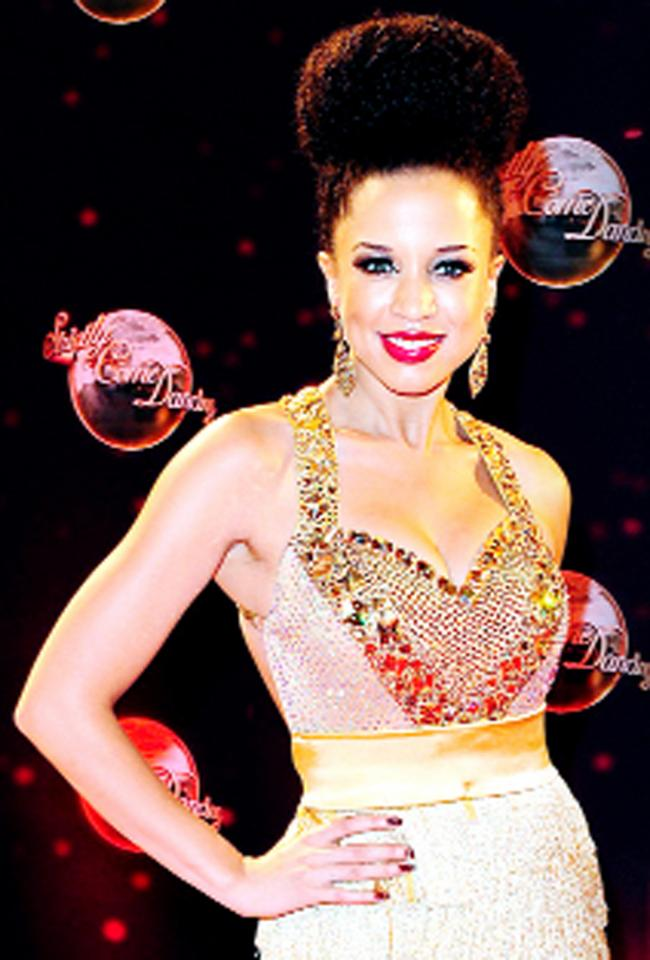 Natalie Gumede shows the strain as TV dance extravaganza tests her stamina to the limit