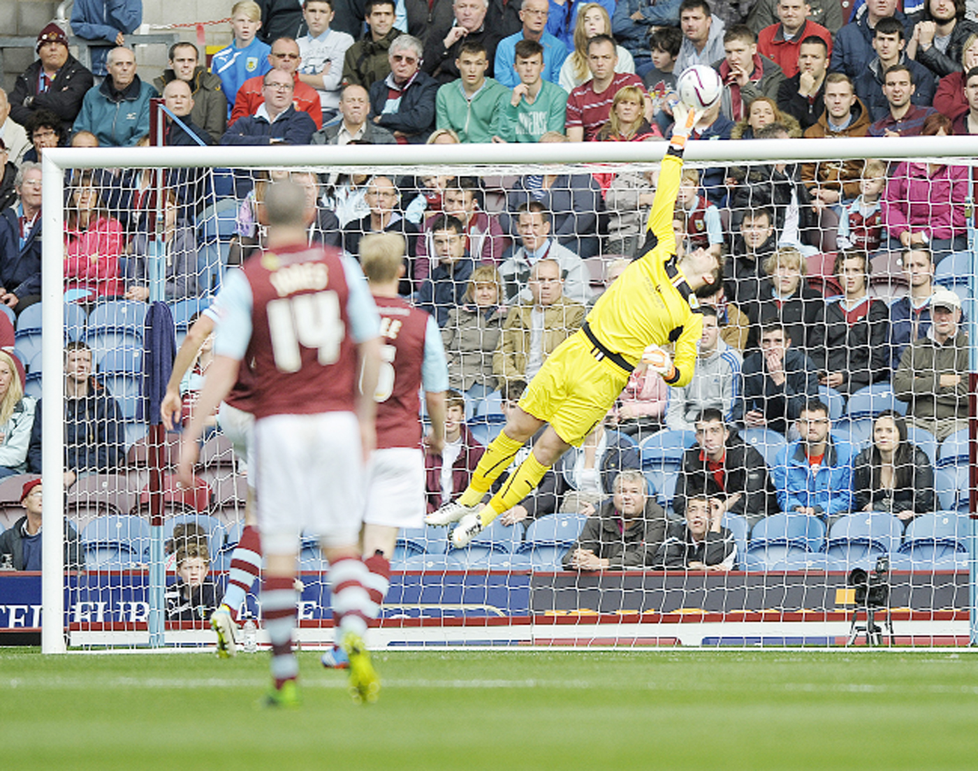 Tom Heaton was praised by John Kettley
