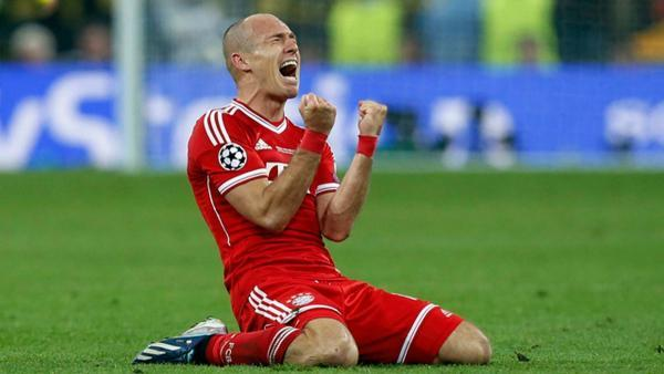Bayern Munich fans can watch the likes of Arjen Robben for less than £150