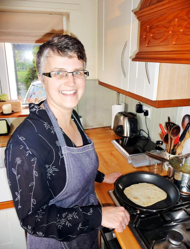 Linzi Barrow describes herself as a 'home cook'