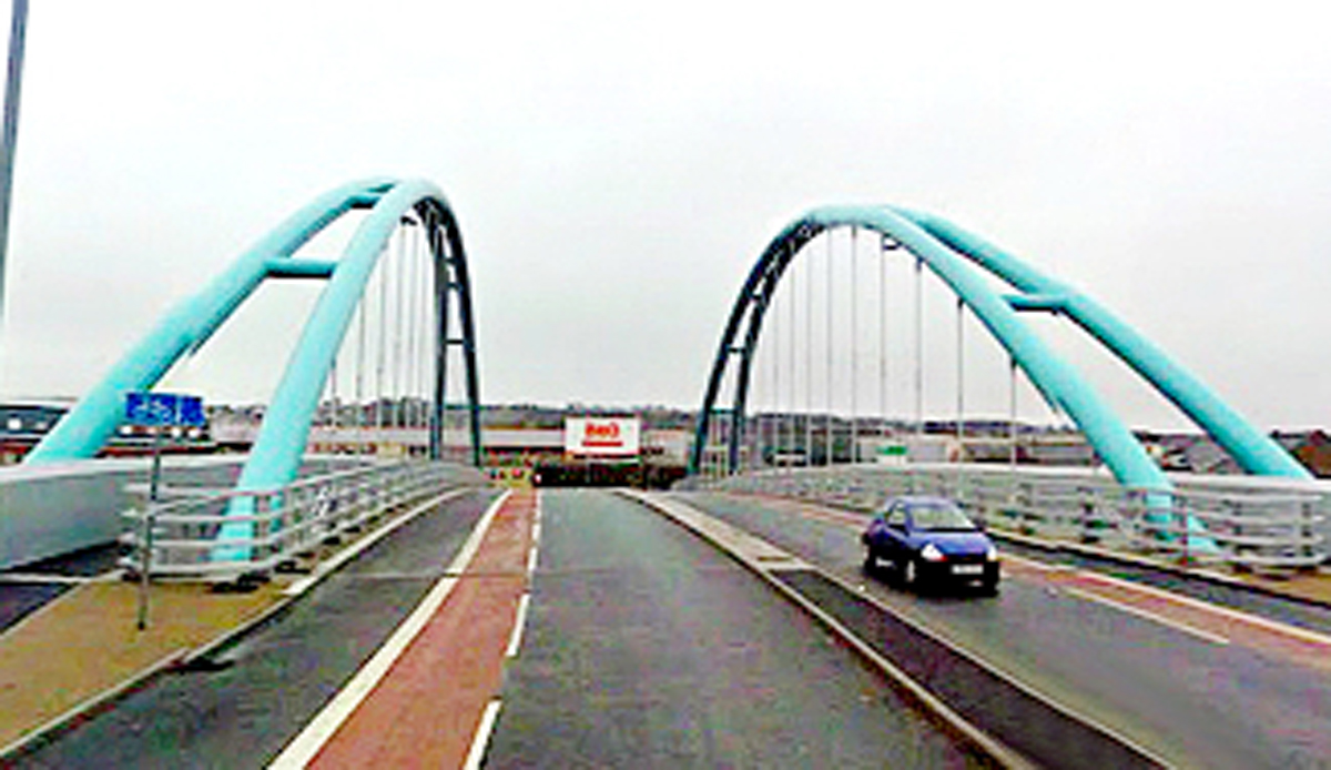 The Wainwright Bridge will at last have a destination when the ring road is completed