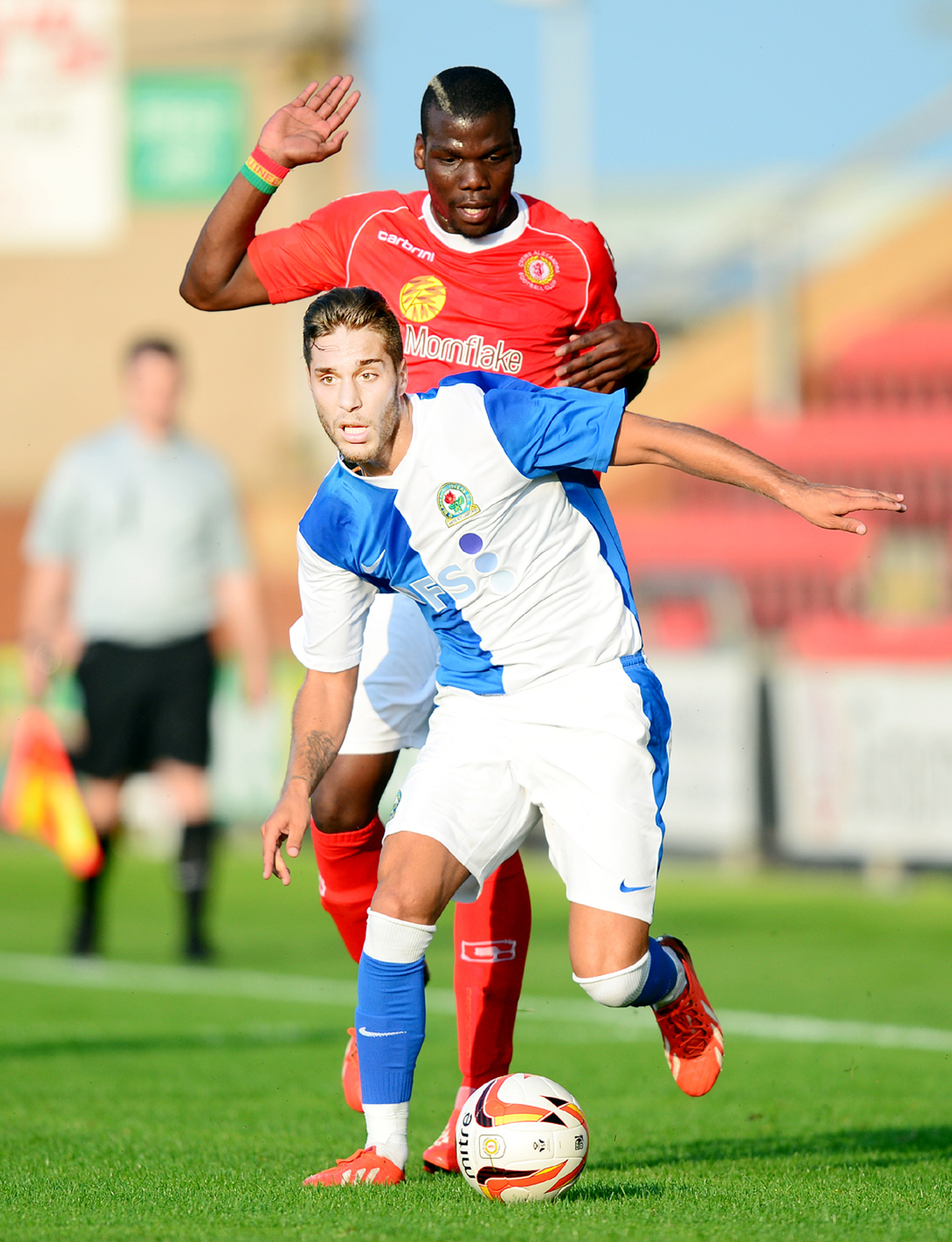 Ruben Rochina scored a brace as Rovers got their pre-season off to a winning start