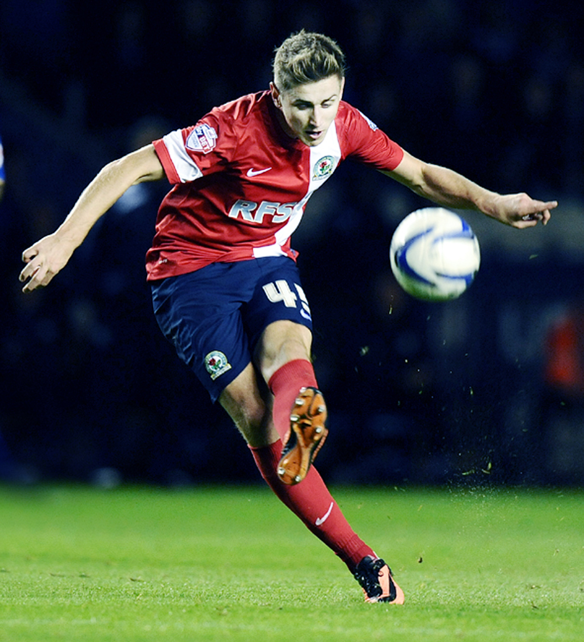 Blackburn Rovers midfielder Tom Cairney
