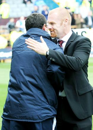 Sean Dyche and Gary Bowyer