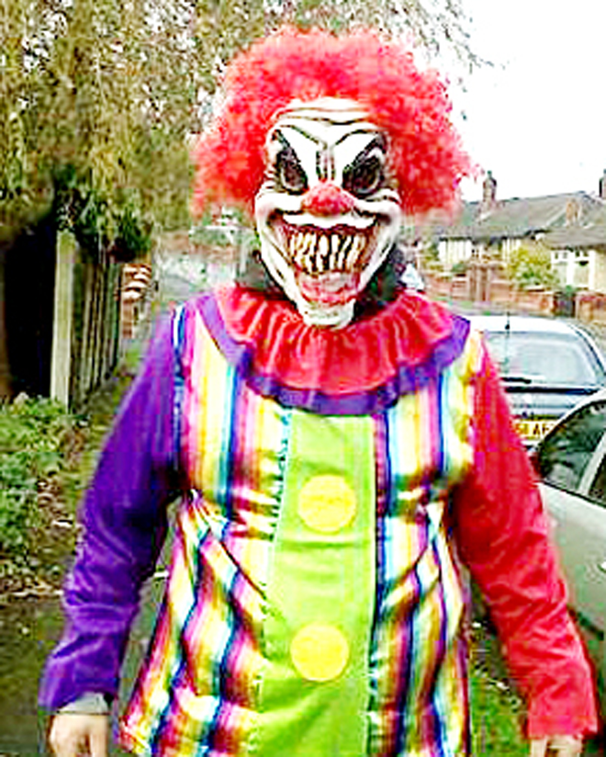 Kidnapping clown rumours in Haslingden are false say police