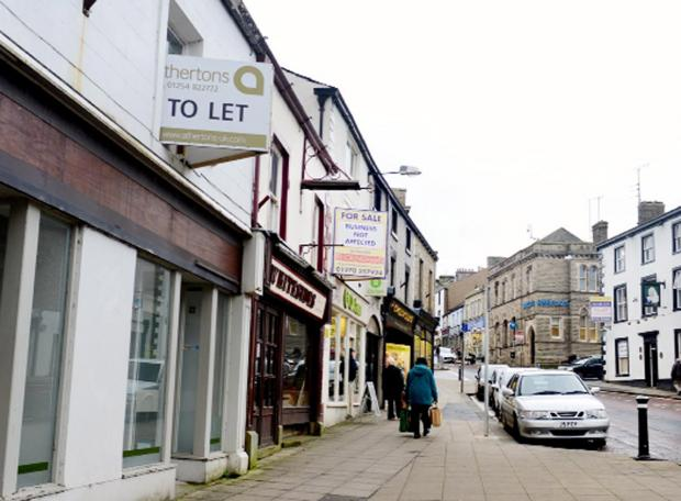 Lancashire Telegraph: £40k bid to pay for Clitheroe facelift