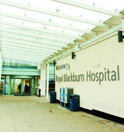 The trust oversees Royal Blackburn Hospital