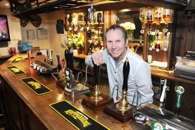 Steve Reid, the new  co-owner  of the Kettledrum, Cliviger