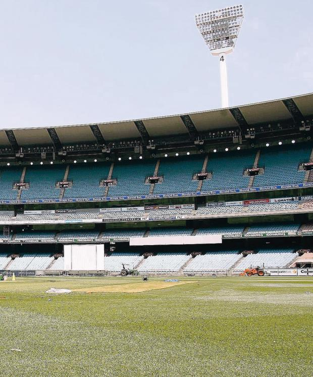 Lancashire Telegraph: HOME OF CRICKET: The Melbourne Cricket Ground is one of the most recognisable sights in the cricket world